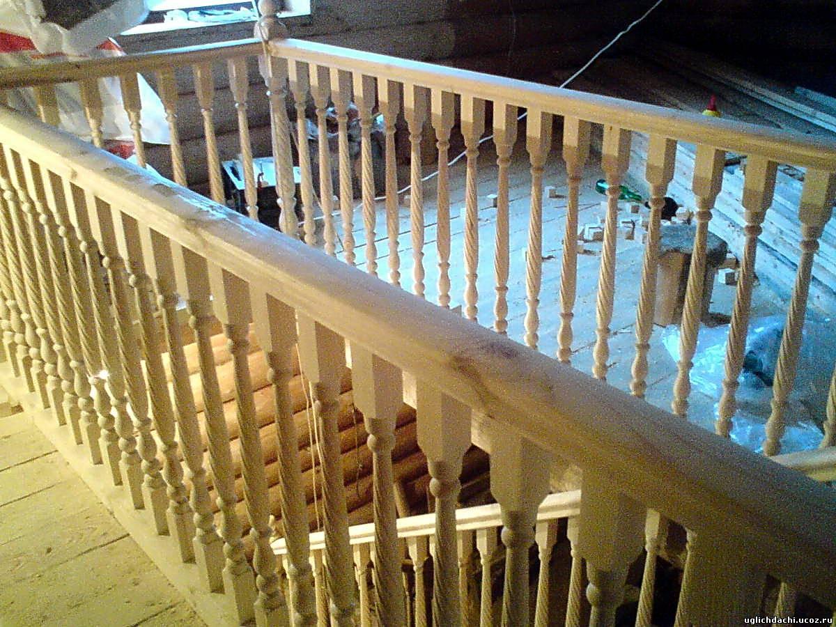 Возведение деревянных лестниц 4